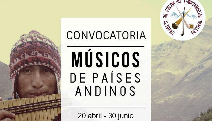 Atención músicos: inscripciones abiertas al Festival de Música de las Alturas