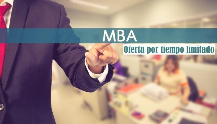 Asegura tu futuro profesional con un MBA certificado por 279 euros
