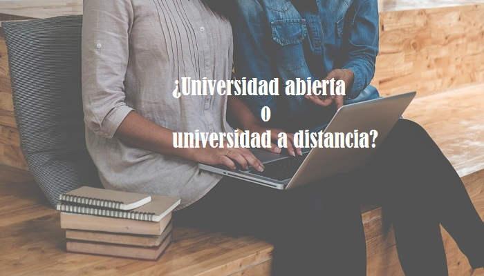 Universidad abierta y a distancia ¿cuál es la diferencia?