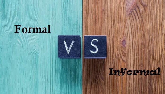 Diferencias entre inglés formal e informal