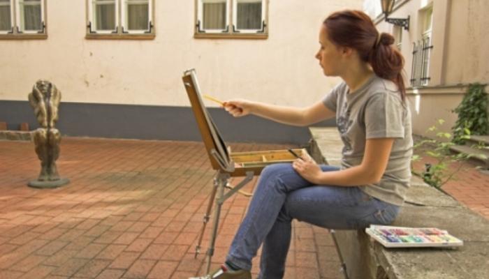 La Fundación Antonio Gala ofrece alojamiento y manutención para jóvenes artistas