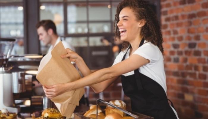 Trabajos apetitosos y recién salidos del horno