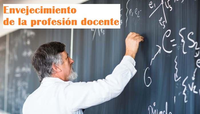 España cuenta con la mitad de profesores jóvenes que hace una década