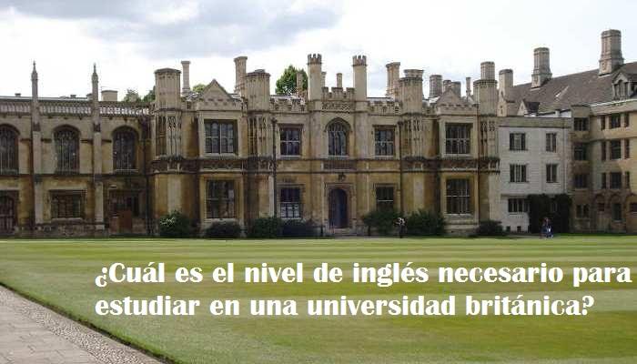 Objetivo: estudiar en una universidad de habla inglesa