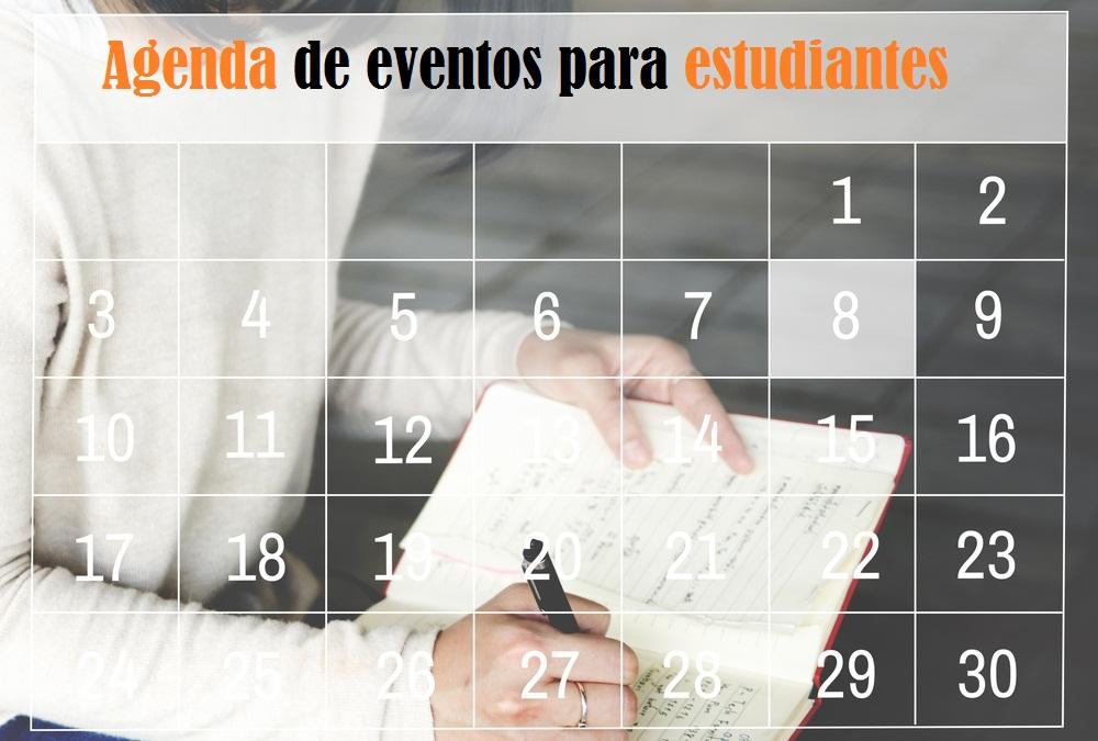 Agenda para estudiantes: becas, eventos y empleo