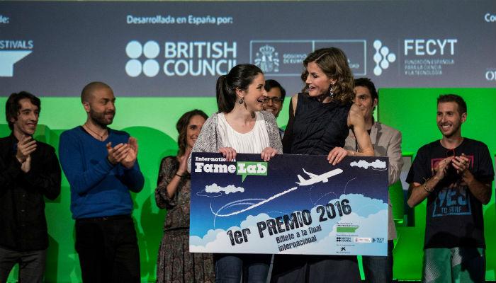 Hormigas y humor gallego, el monólogo que hizo ganadora a Alba Aguión de Famelab España