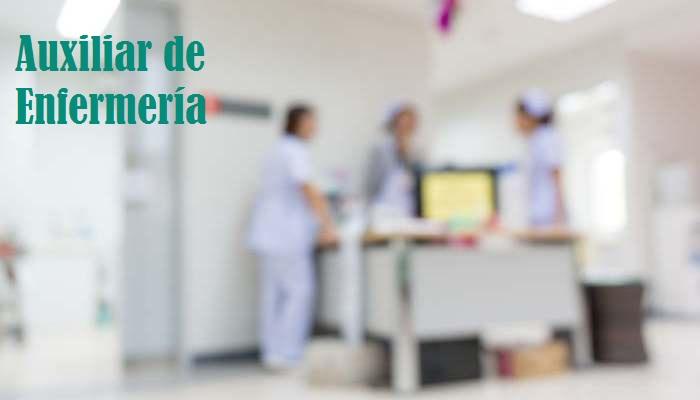 Auxiliar de enfermería o cómo abrirte puertas al empleo