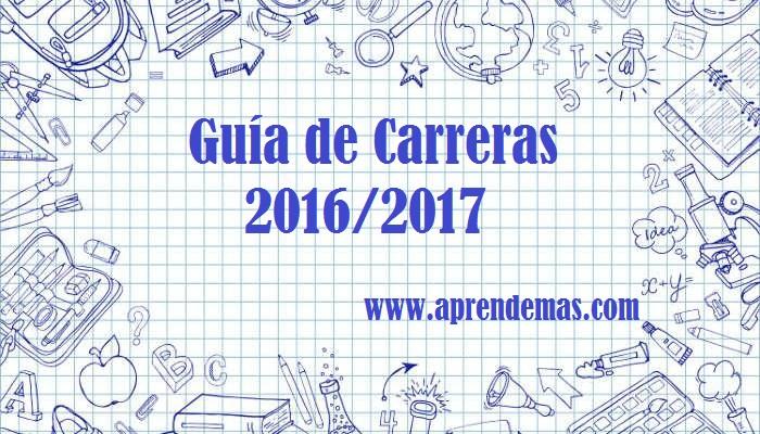 Guía de Carreras 2016/2017