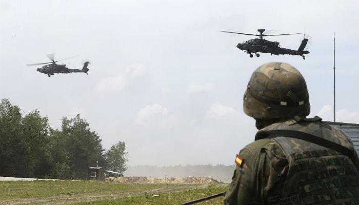 Paso al frente de los aspirantes a Tropa y Marinería del Ejército