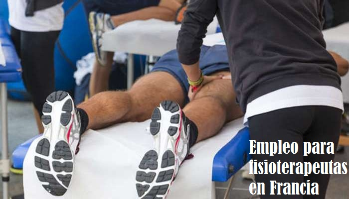Empleo para fisioterapeutas en Francia con sueldos de hasta 3.500 euros