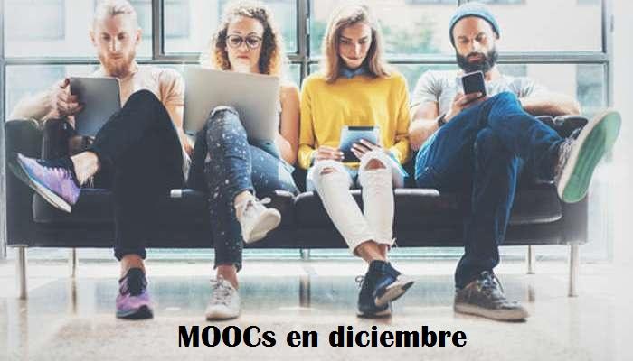Cursos online y gratuitos de desarrollo personal y profesional que llegan en diciembre