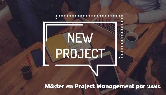 Project Manager, una profesión de futuro con máster por 249 euros