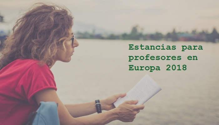 Estancias en Europa para profesores con ganas de viajar y enseñar