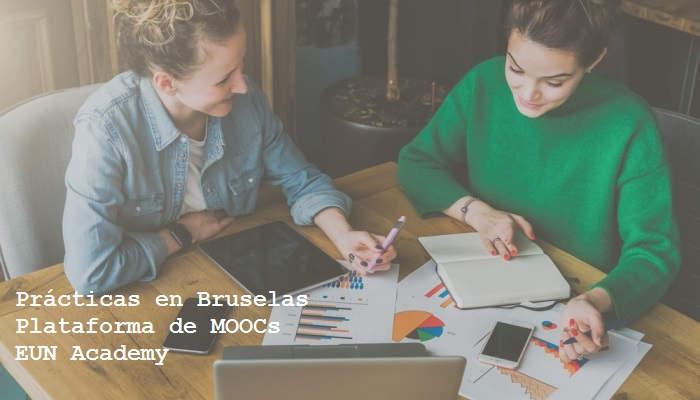 European Schoolnet ofrece prácticas en Bruselas para desarrollar MOOCs o Cursos Online