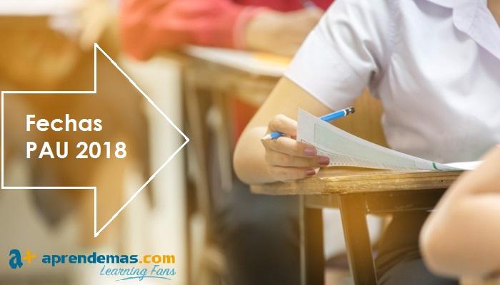 Selectividad 2018: fechas de la PAU por Comunidades Autónomas