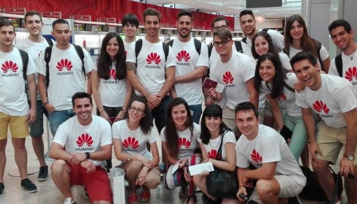 Huawei busca a jóvenes para convertirlos en expertos tecnológicos en China