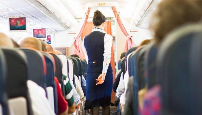 Volando a Málaga para tener el título de Tripulante de Cabina de Pasajeros