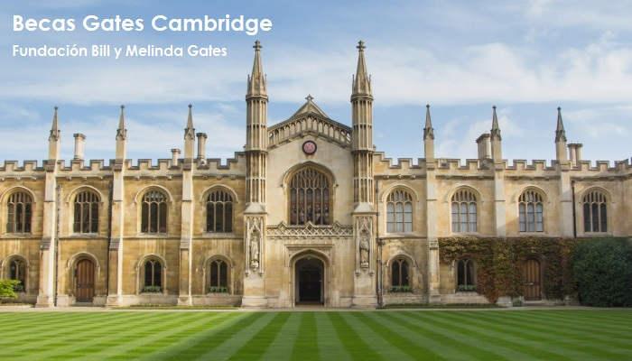 Becas Gates Cambridge: Bill y Melinda Gates te pagan los estudios en la Universidad de Cambridge