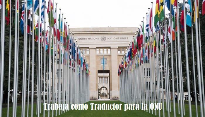 Se buscan traductores para trabajar en la ONU con dos años de experiencia