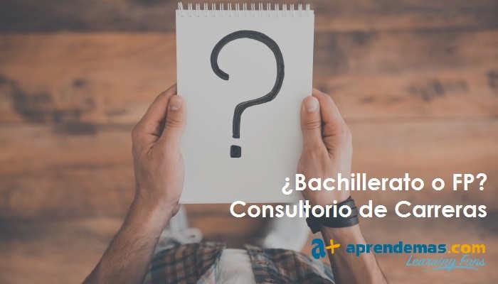 Asesorar a mi hijo Bachillerato o FP