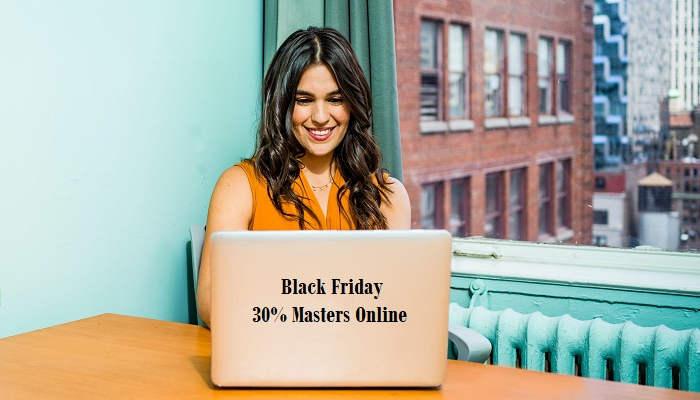 Black Friday: masters online con descuento para especializarse
