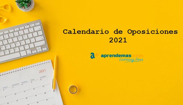 Calendario de Oposiciones 2021: plazas de Empleo Público en un año clave